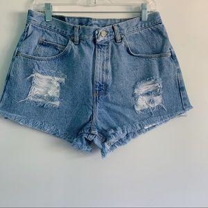 VTG Wrangler Women's Cutoff Denim Shorts